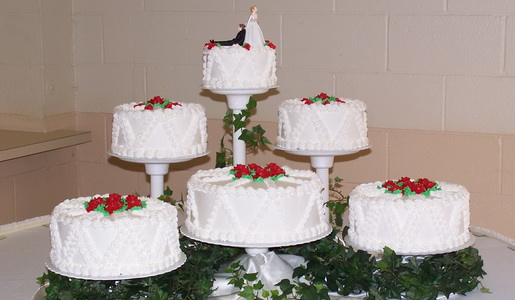 Wedding Cakes Haas Bakery